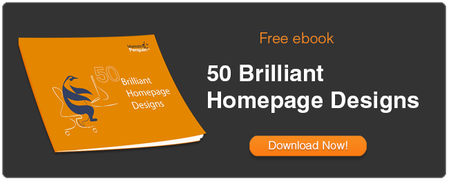 50 Brilliant Website Homepage Designs