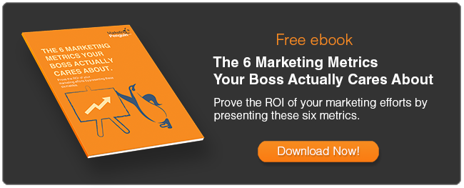 6 Marketing Metrics your boss actually cares about ebook free download